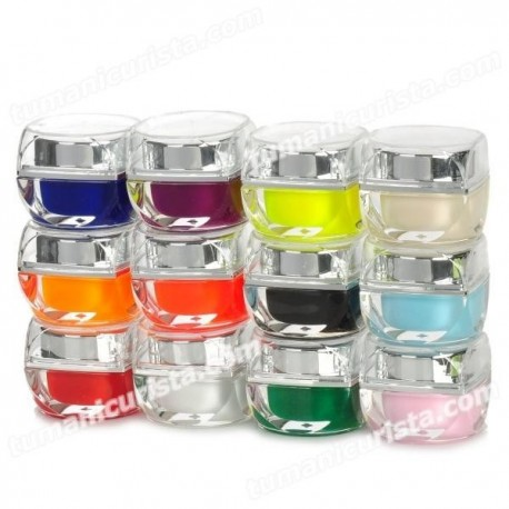 Gel uv multicolor x 12